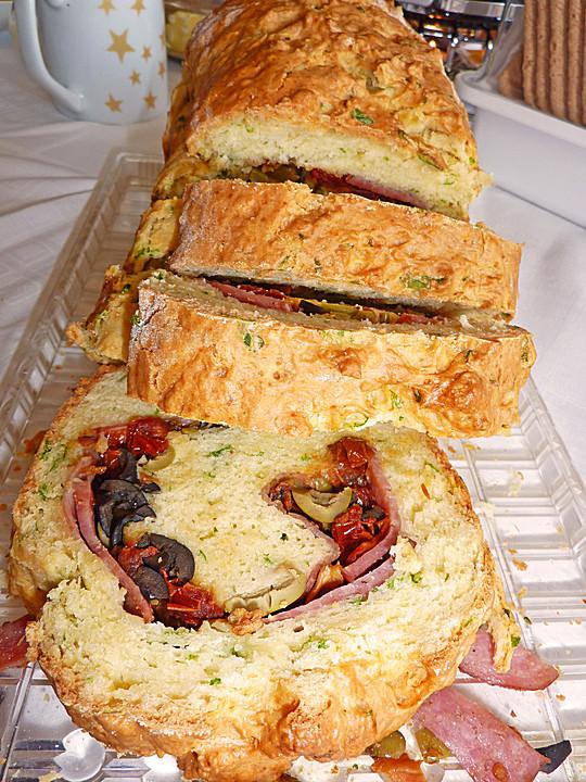 Herzhafter Salami Oliven Kuchen Von Fee86 Chefkoch De