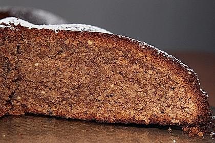 Mandel - Schoko - Kuchen mit Rum