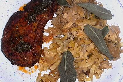 Nudeln mit Sauerkraut 1