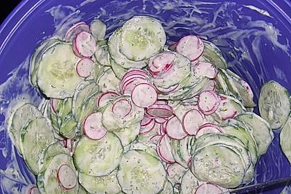 Urmelis  lieblicher Gurkensalat 23