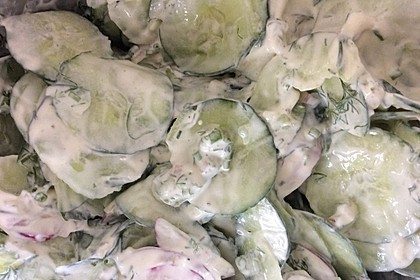 Urmelis  lieblicher Gurkensalat 20
