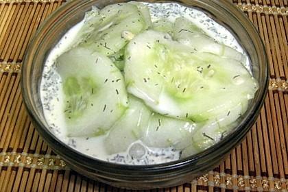 Urmelis  lieblicher Gurkensalat 4
