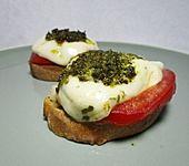 Toast Caprese (Bild)