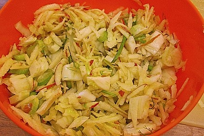 Fenchel-Apfel-Salat 5