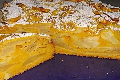 Illes 'spritziger' versunkener Apfelkuchen 1