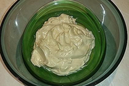 Mayonnaise mit dem Pürierstab hergestellt 27