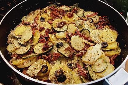 Urmelis Kartoffel - Zucchini - Pfanne Bella Italia