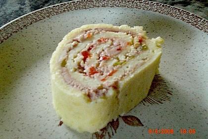 Käse - Leberwurst - Roulade