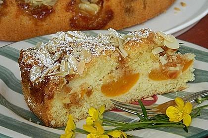 Aprikosen - Amarettini - Kuchen 1