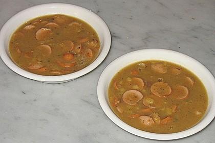 Linsensuppe aus dem Schnellkochtopf mit Balsamicoessig 3