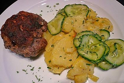Kartoffel - Gurkensalat nach Oma Luise 2
