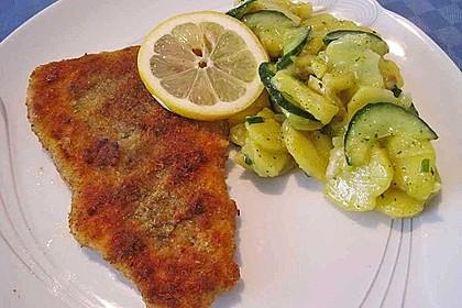 Kartoffel - Gurkensalat nach Oma Luise 4
