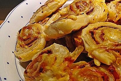 Blätterteig Pizza - Schnecken 11