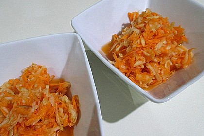Möhren - Apfel - Frischkost