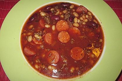 Bohnentopf mit Cabanossi 5