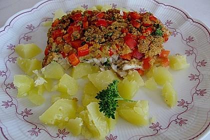 Schlemmerfilet mit Kräuterkruste 3