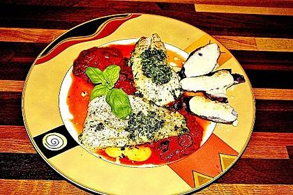 Fisch mit Oliven