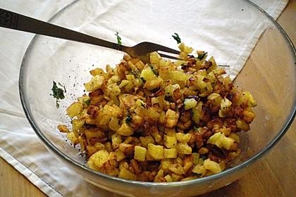 Kartoffeln mit Koriander 1