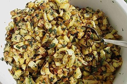 Kartoffeln mit Koriander