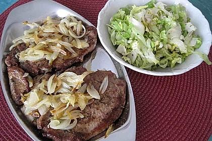 Steaks mit Zwiebeln 6