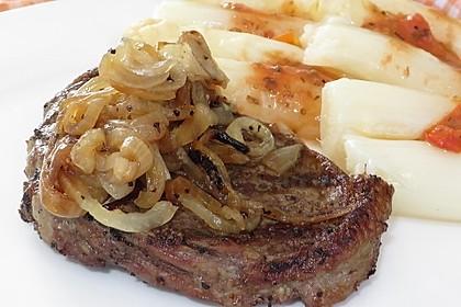 Steaks mit Zwiebeln 1