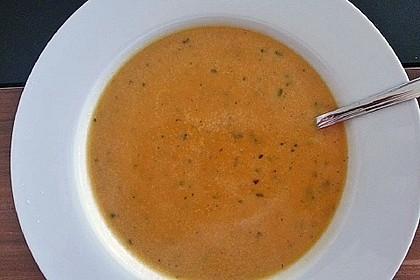 Süßkartoffelsuppe mit Ingwer 6