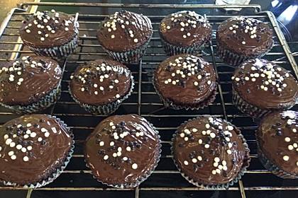 Schoko - Frischkäse Muffins 6