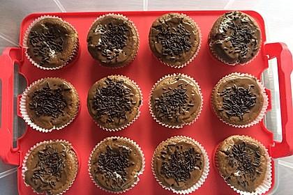 Schoko - Frischkäse Muffins 25