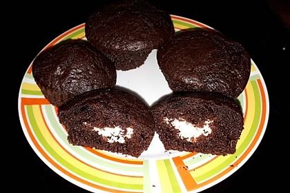 Schoko - Frischkäse Muffins 14