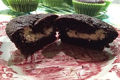Schoko - Frischkäse Muffins 35