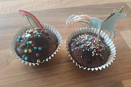 Schoko - Frischkäse Muffins 7