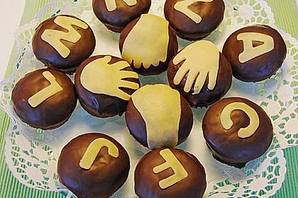 Schoko - Frischkäse Muffins 24