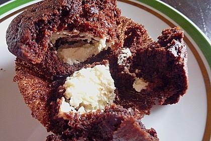 Schoko - Frischkäse Muffins 43