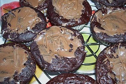 Schoko - Frischkäse Muffins 51