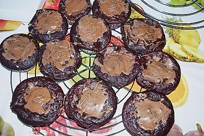 Schoko - Frischkäse Muffins 38