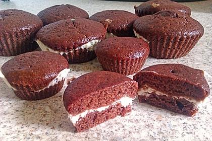 Schoko - Frischkäse Muffins 39