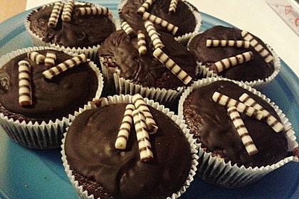 Schoko - Frischkäse Muffins 1
