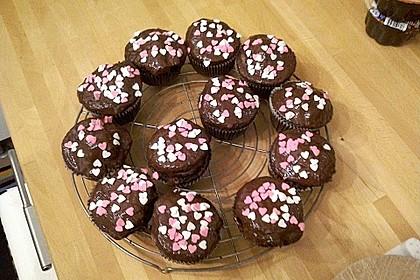 Schoko - Frischkäse Muffins