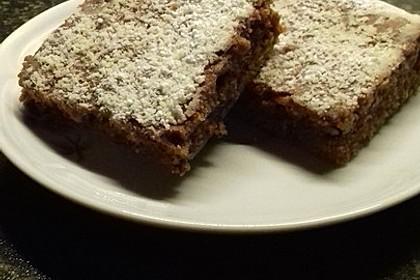Schoko - Rote Bete Brownies 6