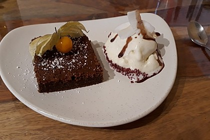 Schoko - Rote Bete Brownies (Bild)