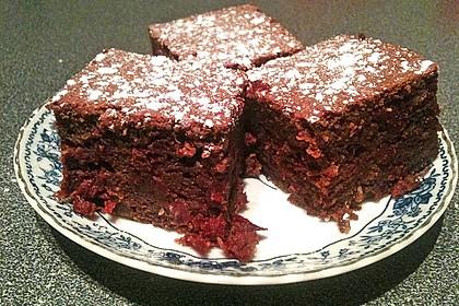 Schoko - Rote Bete Brownies 2