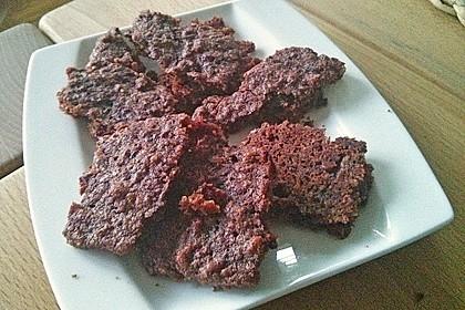 Schoko - Rote Bete Brownies 7