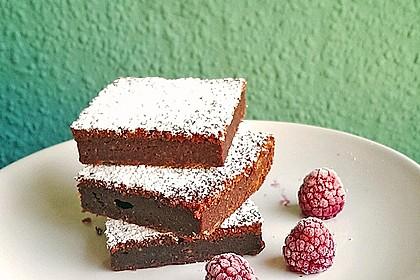 Schoko - Rote Bete Brownies
