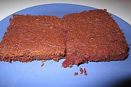 Schoko - Rote Bete Brownies 5