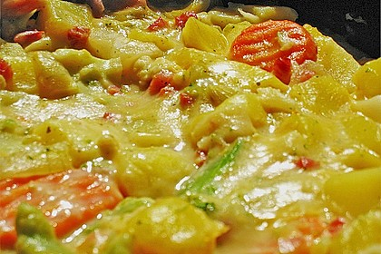 Kartoffel - Gemüse - Pfanne 19