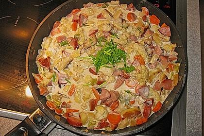 Kartoffel - Gemüse - Pfanne 6