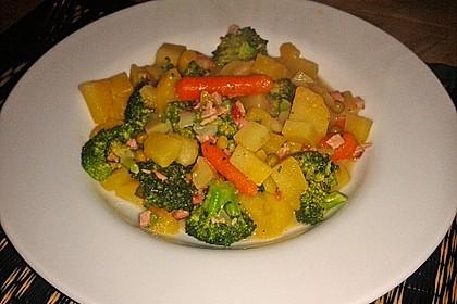 Kartoffel - Gemüse - Pfanne 7