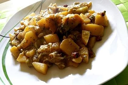 Kartoffel - Gemüse - Pfanne 14