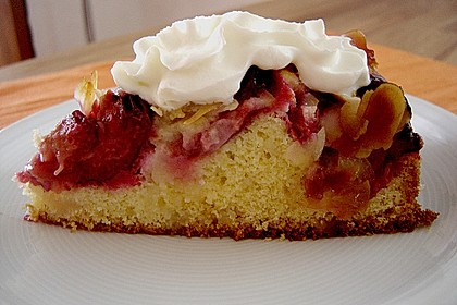 Zwetschgenkuchen mit Mandelguss à la Sonja