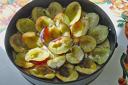 Zwetschgenkuchen mit Mandelguss à la Sonja 5